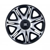 """OMP OMPS07031412 - TAPACUBOS 14""""  GHOST SPPED BLACK/SILVER"""