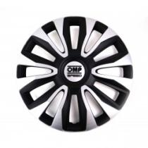 """OMP OMPS07011612 - TAPACUBOS 16""""  MAGNUM SPEED BLACK SILVER"""